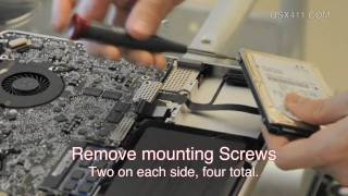 """How to: MacBook Pro 17"""" SSD Install [HD]"""