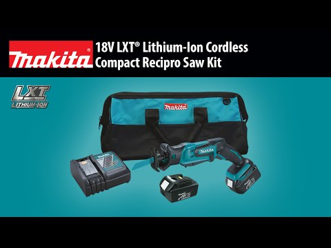 MAKITA 18V LXT® Compact Recipro Saw (XRJ01)