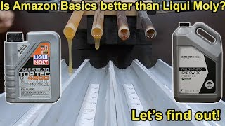 Is Amazon Basics better than Liqui Moly? Let's find out!