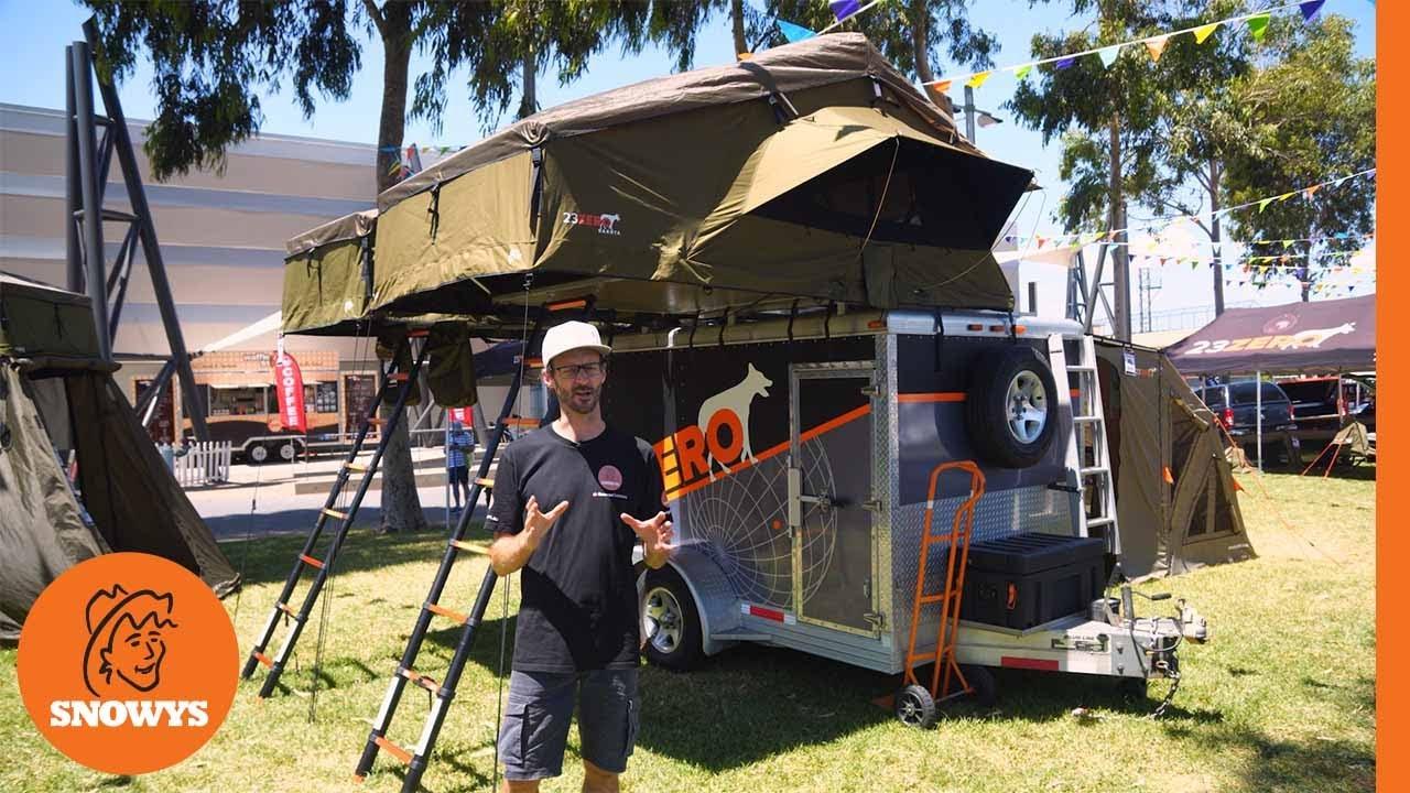 Dakota 1600 Rooftop Tent with LST
