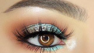 Simple Aqua Blue Makeup Tutorial - Sofie Bella