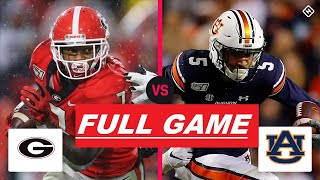 Georgia vs Auburn Full Game HD | College Football Week 5 | NCAAF 10/3/2020