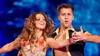 Kimberley Walsh & Pasha dance to 'Livin La Vida Loca' - Strictly Come Dancing 2012 - BBC One