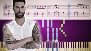Maroon 5 - Girls Like You ft. Cardi B - Piano Tutorial + SHEETS