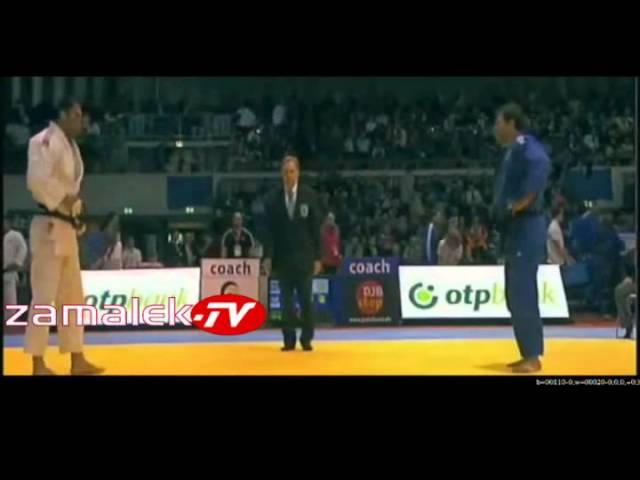 لاعب جودو مصري يهزم منافسه الإسرائيلي ويرفض مصافحته