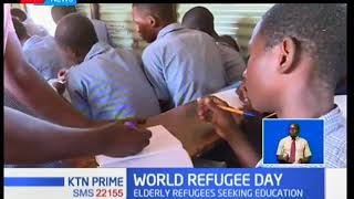 Elderly refugees in Kakuma realize need for education | #WorldRefugeeDay