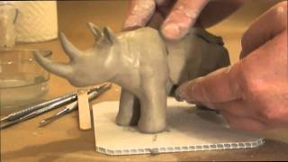 Making a Simple Animal out of Clay