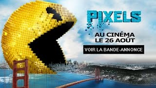 Trailer of Pixels (2015)