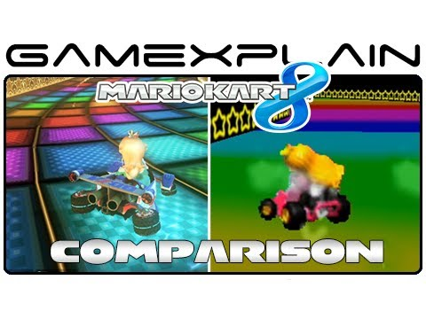 Mario Kart 8: Rainbow Road 64 Head-to-Head Comparison (Wii U