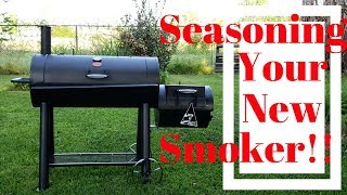 How To Season A New Smoker
