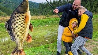 Гравюры на тему рыбалка с папой