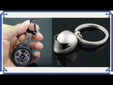 Producto Chino Llavero mini casco de moto y llanta de auto