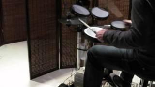 Duran Duran - Runway Runaway [drum cover]  Roland HD-3