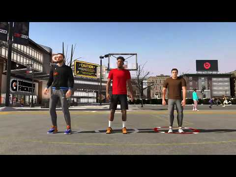 PLAYING NBA 2K20 MyPARK FOR THE FIRST TIME