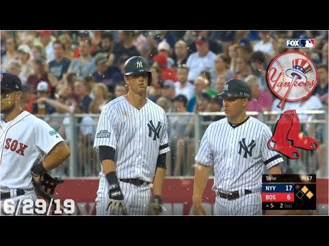 New York Yankees Highlights: vs Boston Red Sox | 6/29/19