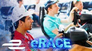 Fans vs Racing Drivers! VISA Simulator eRace LIVE From Paris - Formula E