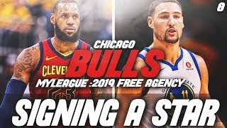 SIGNING A SUPERSTAR! 2019 FREE AGENCY| NBA 2K18 CHICAGO BULLS MYLEAGUE - Video Youtube