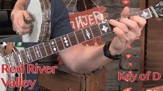 3 Keys, 1 Banjo, 0 Capos! Red River Valley Lesson!