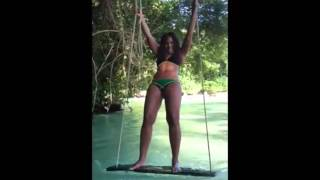 Singer Ashanti On Vacation