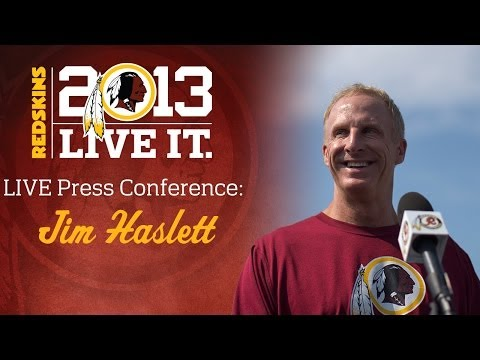 Jim Haslett Post Practice Press Conference: 12/26/13