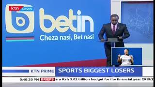 Sports amongest the biggest losers in the 2019/2020 budget allocation