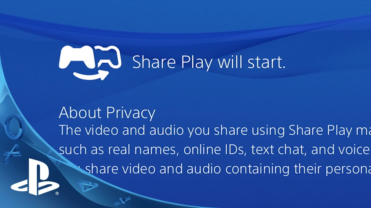 Check Out Share Play in Action on PS4