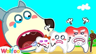 No No Wobbly Tooth, Don't Leave Wolfoo - Wolfoo Learns Good Habits for Kids | Wolfoo Channel