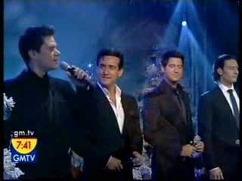 White christmas il divo for El divo youtube