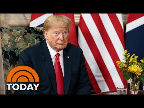 President Donald Trump And Queen Elizabeth Set To Meet Amid Brewing US And UK Tension | TODAY