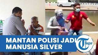 Terhimpit Ekonomi, Mantan Polisi Tertangkap Satpol PP Jadi Manusia Silver, Kini Dapat Bantuan