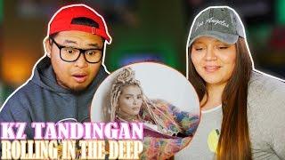 KZ TANDINGAN - ROLLING IN THE DEEP SINGER | COUPLES REACTION 2018