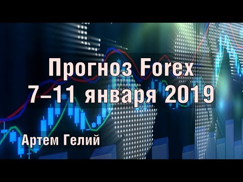 Прогноз форекс на неделю: 07.01.2019 - 11.01.2019