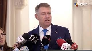 Iohannis: Sunt convins că până la începutul lui 2020 discuţia privind Secţia specială va fi finalizată