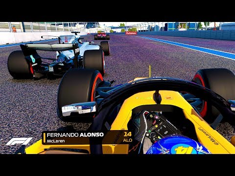 DRAMA IN THE FINAL STAGES, TITLE CHALLENGE ON?! - F1 2018 Mod CAREER MODE Part 14