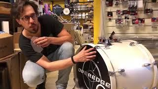 TEST Wambooka Kick Damper!!! Oggi – Four Sticks   Drum Shop