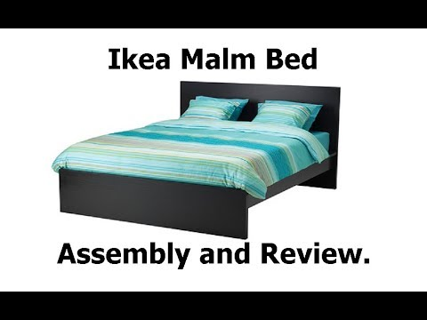 Ikea Malm Bed Assembly and Review