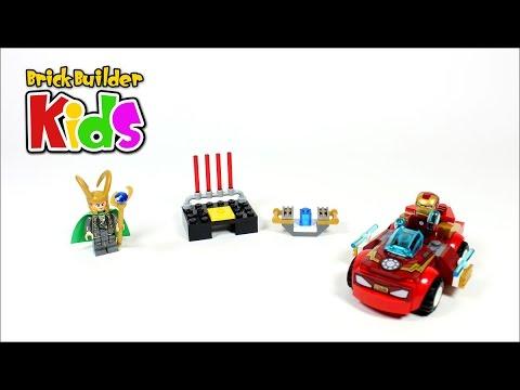 Vidéo LEGO Juniors 10721 : Iron Man contre Loki