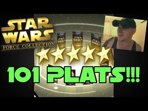 Star Wars - Force Collection #110: HUNDRED AND ONE PLATINUM PACKS!!!!