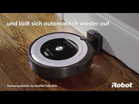 YouTube Roomba 605
