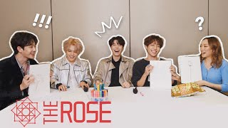 Teaching A KPOP IDOL BAND How To Draw! (The Rose)