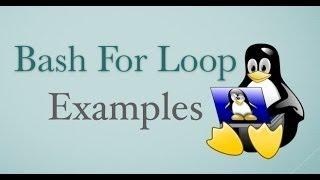 15BashForLoopExamplesforLinux/Unix/OSXShellScripting