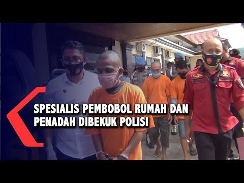 Spesialis Pembobol Rumah Dan Penadah Barang Curian Dibekuk Polisi