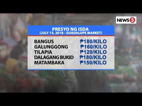 [News5]  Presyo ng bilihin sa palengke | July 13, 2018