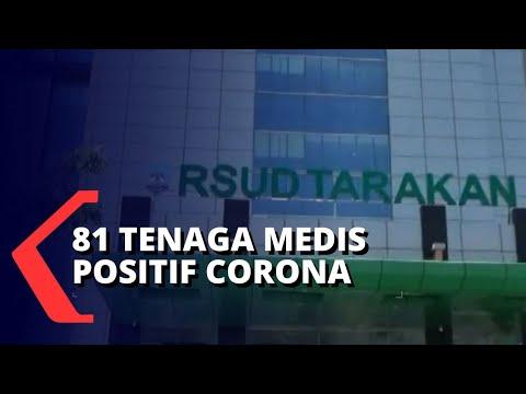 tenaga medis terpapar corona pelayanan rsud tarakan ditutup sementara