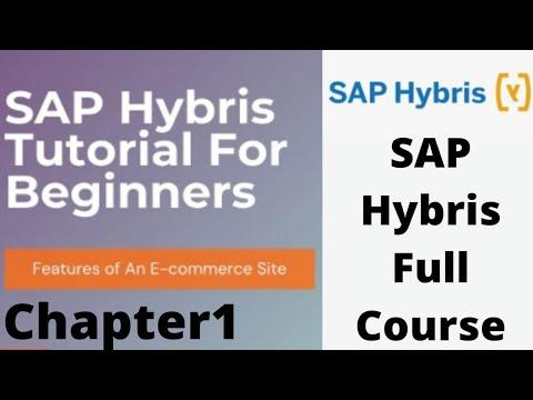 SAP Hybris Tutorial   Part1 - YouTube