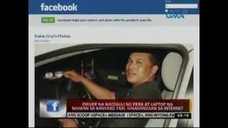 24oras: Driver na nagsauli ng pera at laptop na naiwan sa taxi, hinahangaan sa internet