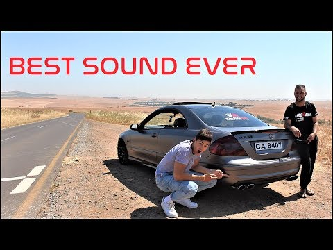 Mercedes Benz CLK63 AMG! Monsters are scary! | LibeRebil Vlogs
