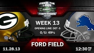 NFL Thanksgiving Preview | Green Bay Packers Vs Detroit Lions NFL Week 13 Picks W/ Duffy, Loshak