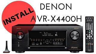Denon AVR-X4500H overview - tipthepunisher
