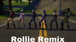 Ayo & Teo - Rollie Remix (Official Fortnite Music Video) TikTok Dance